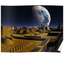 Moon City Alpha Poster