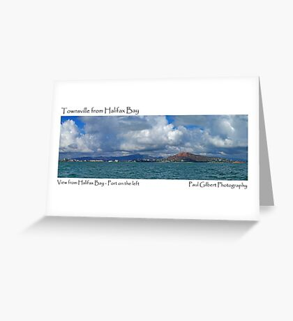 Townsville from Halifax Bay Greeting Card