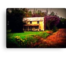 Rural Spring Canvas Print