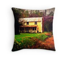 Rural Spring Throw Pillow