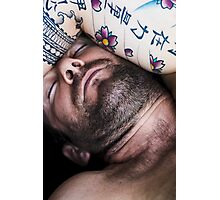 Jeff Sleeping Photographic Print