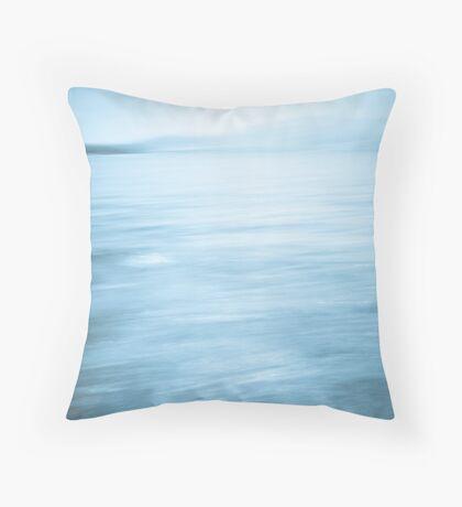 Centuries of Waves Throw Pillow