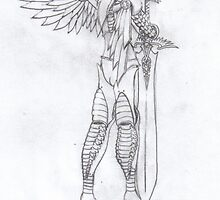 Iron Angel by AscherMalachi