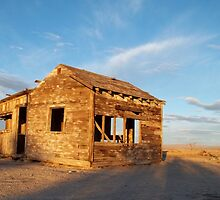 Abandoned - California Desert by Glenn McCarthy