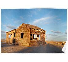 Abandoned - California Desert Poster