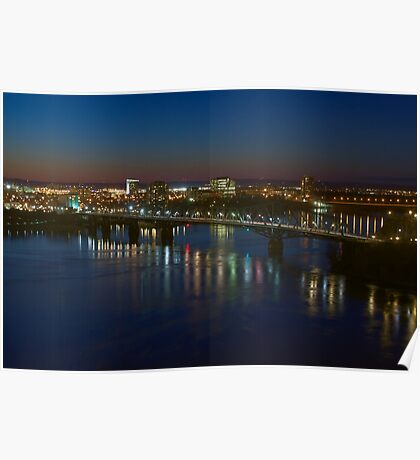 Ottawa River - Ottawa, Ontario, Canada Poster