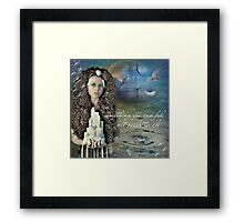 Something you can feel but ...  Framed Print