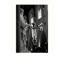St. Paul at the cathedral Art Print