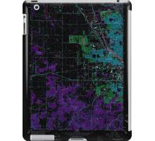 USGS Topo Map Oregon Eugene West 279831 1967 24000 Inverted iPad Case/Skin