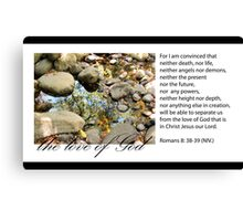 Nothing can separate us from the love of God Canvas Print
