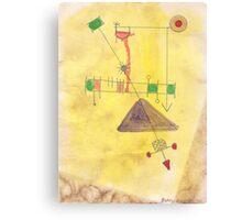 Flying Machine Canvas Print