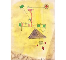 Flying Machine Photographic Print