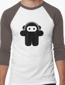 Funky Astronaut - Moonman Men's Baseball ¾ T-Shirt