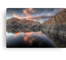 Inside Cove Canvas Print