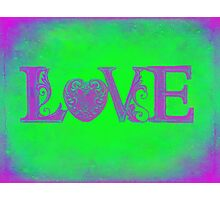 Funky Groovy Love... Photographic Print