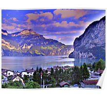 Stunning Switzerland HDR Poster