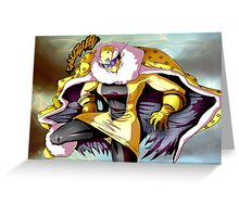 Gold Queen Rush! Greeting Card