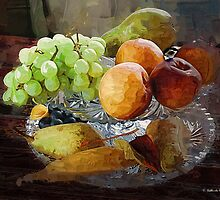 Fruit Still Life by Gilberte