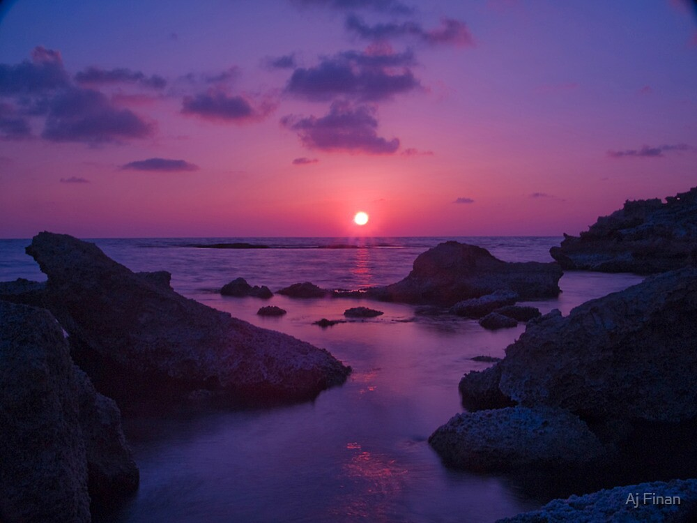 A Cypriot Sunset by Aj Finan