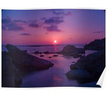 A Cypriot Sunset Poster