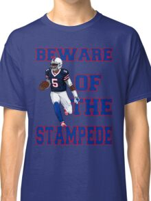 Tyrod Taylor - Beware Of The Stampede Classic T-Shirt