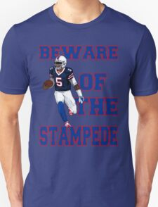 Tyrod Taylor - Beware Of The Stampede Unisex T-Shirt