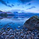Blue dawn over Derwentwater by Shaun Whiteman