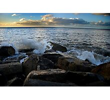 sea land Photographic Print
