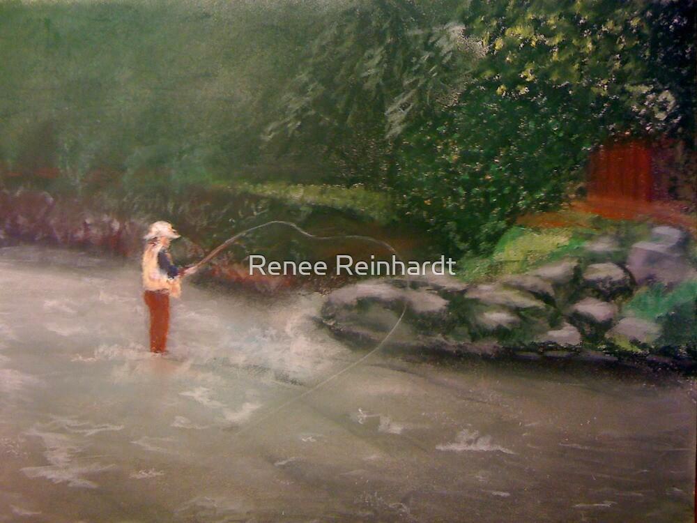Plein air pastel by Renee Reinhardt