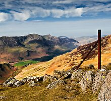 The High Stile Range, Buttermere. Cumbria. UK by David Lewins