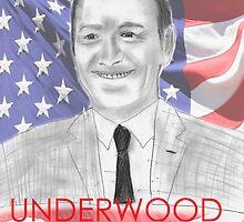 Frank Underwood 2016 Campaign Poster (Unlicensed Version) by danielmeier