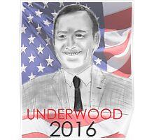 Frank Underwood 2016 Campaign Poster (Unlicensed Version) Poster