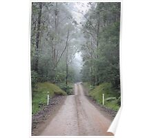 """""""Road to Nowhere - New South Wales, Australia"""" Poster"""