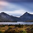 Cradle Mountain nightfall by Karen Scrimes