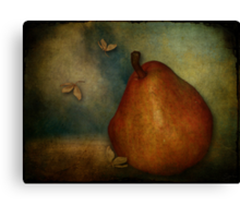 Red Williams Pear - Still Life Canvas Print