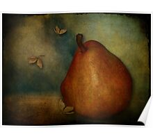 Red Williams Pear - Still Life Poster