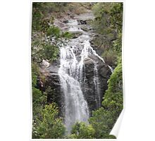 """""""The Cascade - Nature Reserve, New South Wales Poster"""