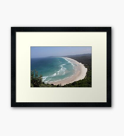 """Coastline - Northern New South Wales"" Framed Print"