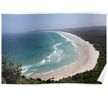 """Coastline - Northern New South Wales"" Poster"