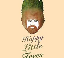 Happy Little Trees by kellymichelle