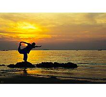 Sunset Dancer Photographic Print