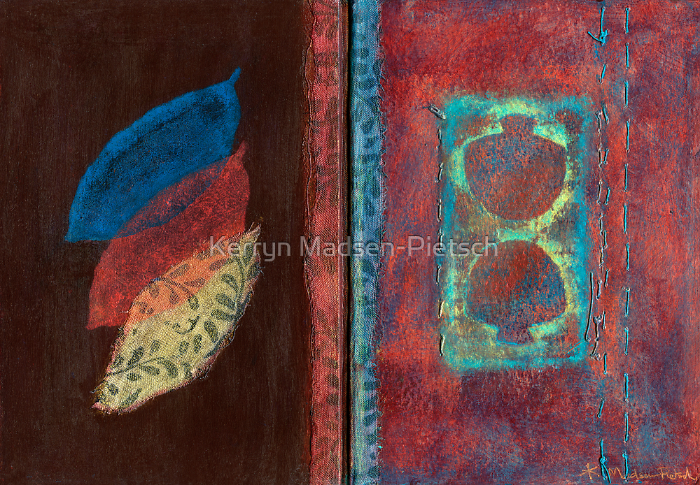 Synthesis (Artist Book - pp1&2) by Kerryn Madsen-Pietsch
