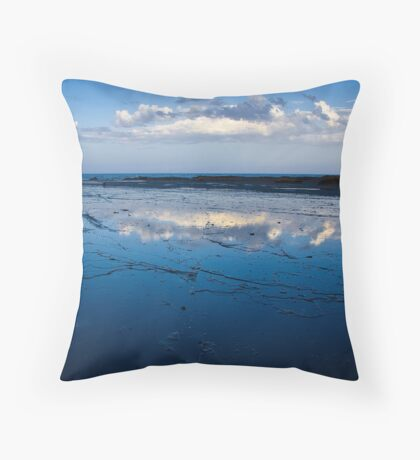 Mirrored Sky Throw Pillow