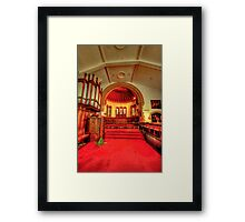 St Chad's Poulton Le Fylde Framed Print