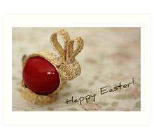Happy Easter! Art Print