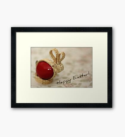 Happy Easter! Framed Print