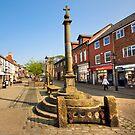 The Market Place Poulton Le Fylde by John Hare
