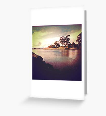 Cam River, Tasmania Greeting Card