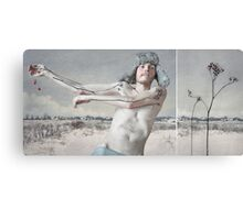 December - hat of Winter Canvas Print