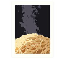 Spaghetti Time! Art Print